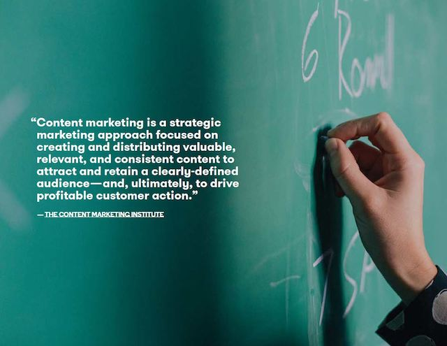 Small Business Online Content Marketing