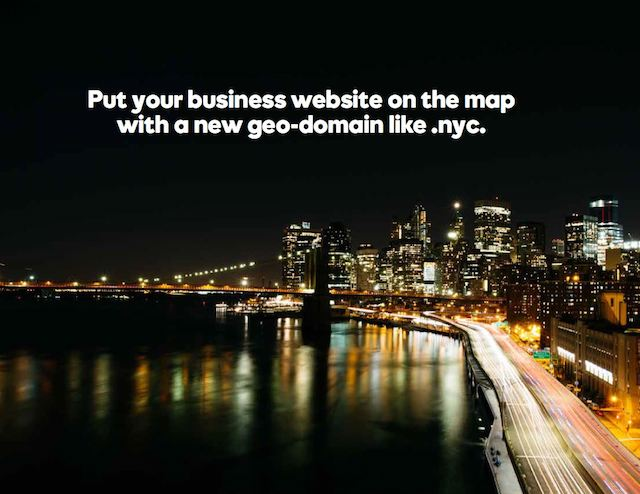 Small Business Online Geodomains