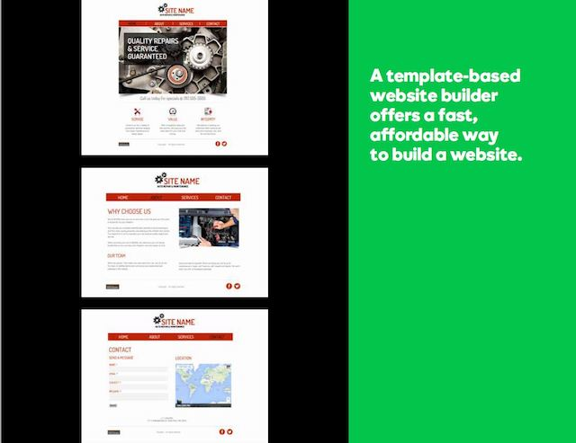 Small Business Online Website Builder
