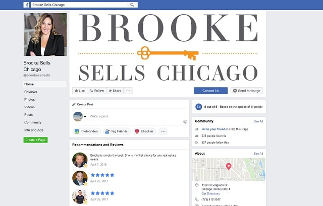 Social Media Brand Brooke Sells Chicago