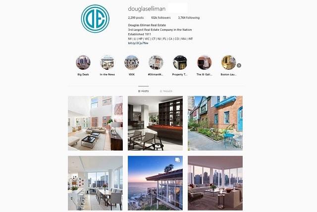Social Media Brand Douglas Elliman