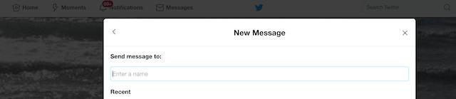 Social Media Customer Service Twitter DM