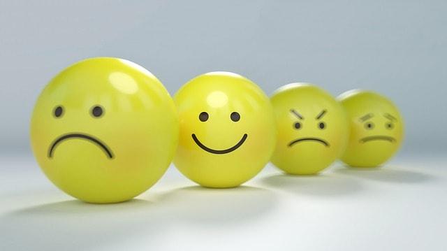 Social Media Metrics Happy Sad Faces