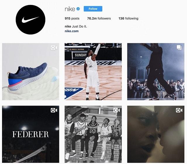 Social Media Networking Nike