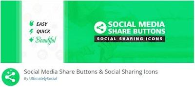 Social Media Share Buttons WordPressorg Banner