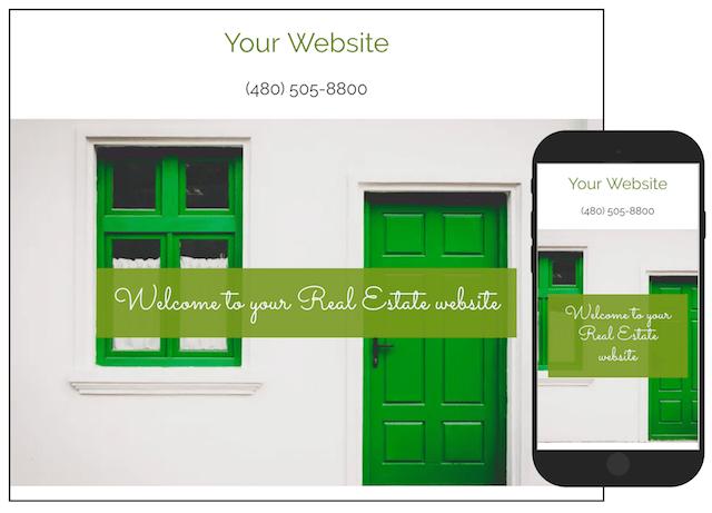 Start A Real Estate Business GoDaddy Website Builder Sample Template