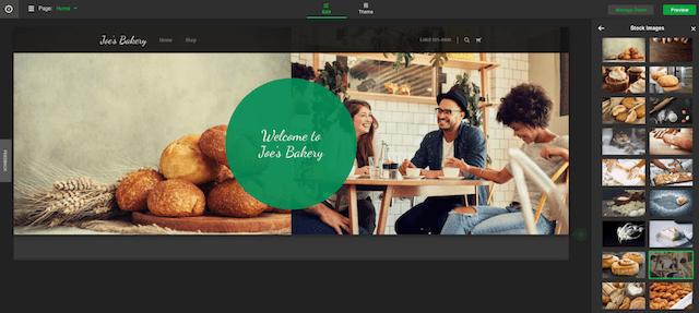 Avvia un sito Web GoCentral Design