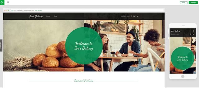 Avvia un sito Web GoCentral Mobile Design