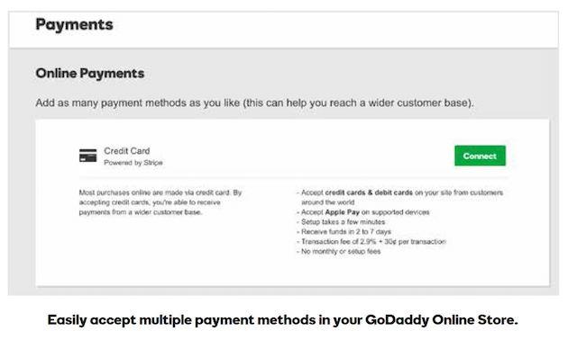 Start A Website GoDaddy Online Store