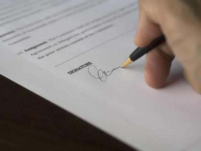 Starting a Construction Company Signature
