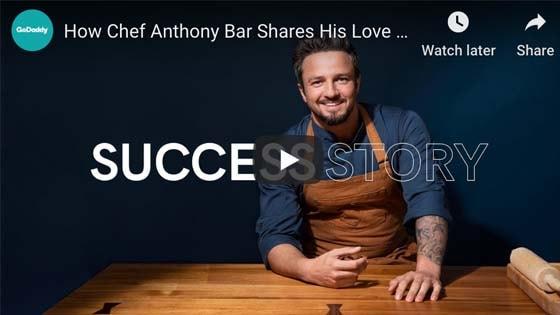 Starting Restaurant Anthony Bar Chef Video