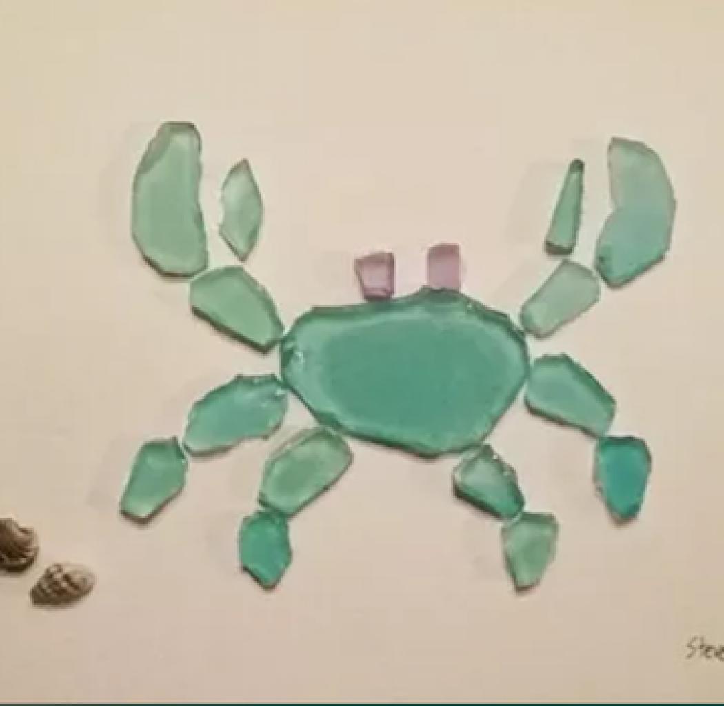 Steve Langs Art Crab