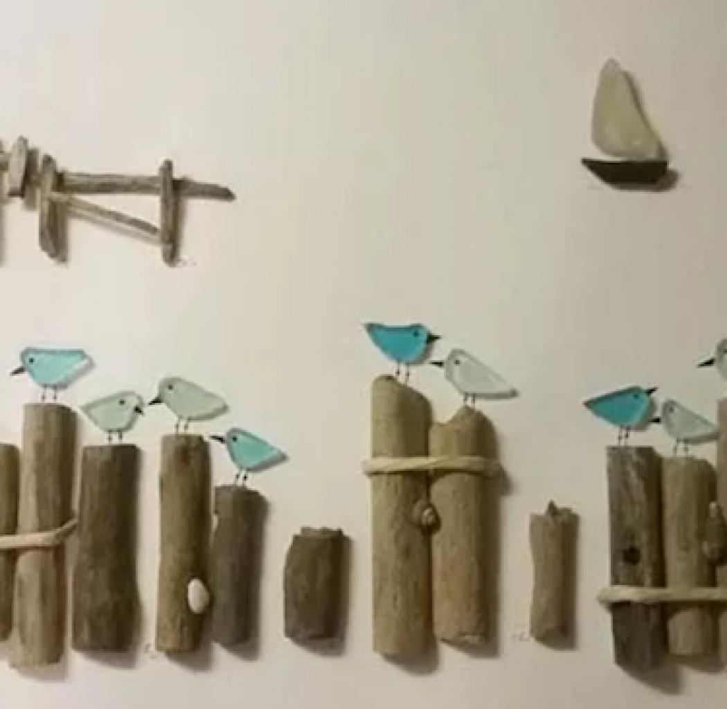 Steve Langs Art Seagulls