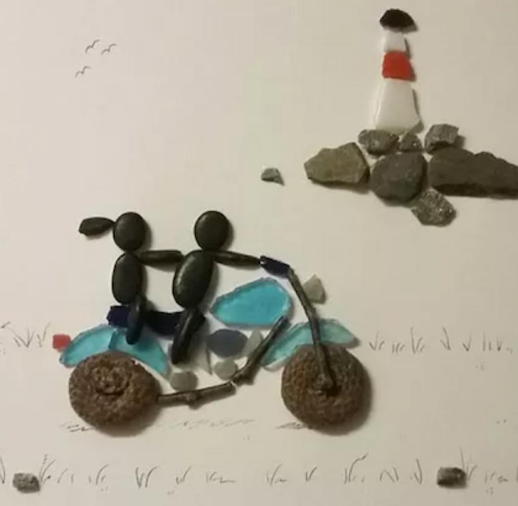 Steve Langs Art Seaside Ride