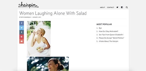 Stock Photos Women Hairpin Salad Photo