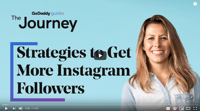 Strategies To Get More Instagram Followers Journey Video