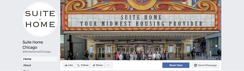 Suite Home Chicago Facebook Page