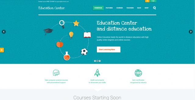 Teacher Websites WordPress Theme
