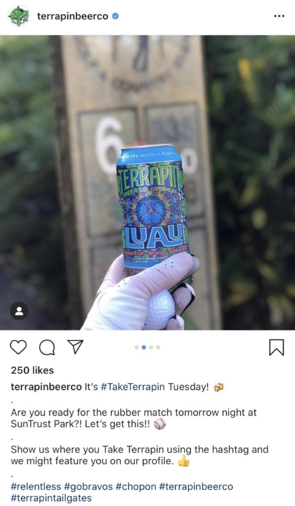 terrapin-brewery-branded-hashtag-social-media-trends