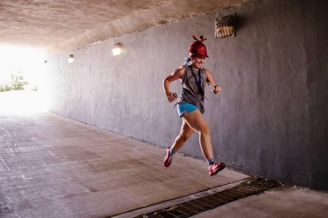 That Hard Hat Girl Run