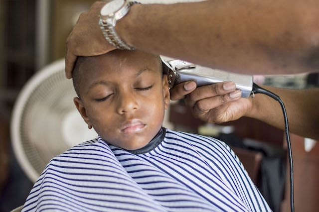 The Royal Barber Shop Kids Cut
