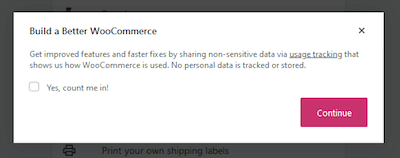 Tracking WooCommerce