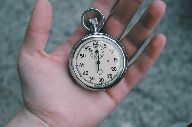 Hand With A Pocket Watch