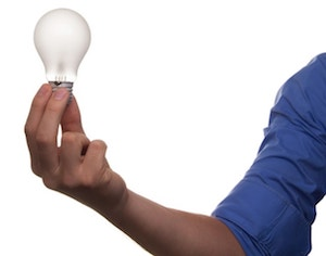 Upselling And Cross-Selling Techniques Lightbulb