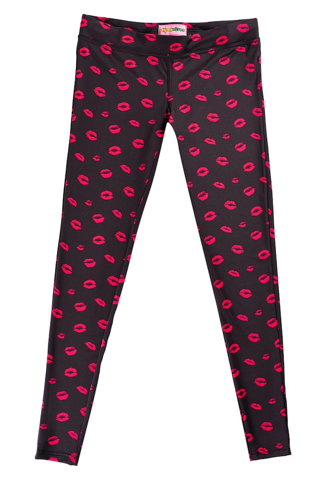 Valentine's Day Promotions Kisses Leggings