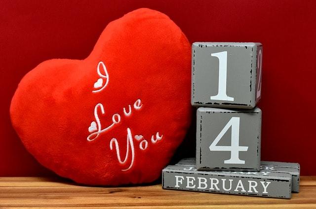 Valentines Day Sales Calendar