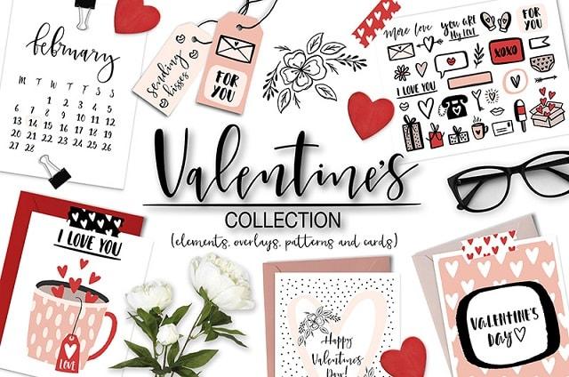 Valentines Day Website Creative Market