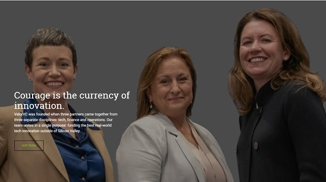 Venture Capital Investment Valor Ventures Homepage