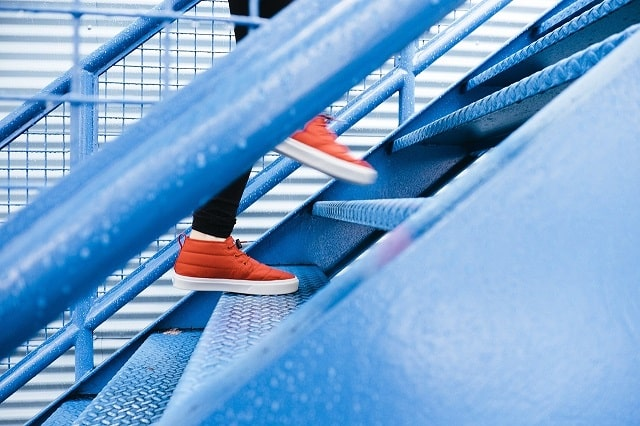 Walking Up Stairs Demonstrates Next Steps For Buying Expired Domain Names