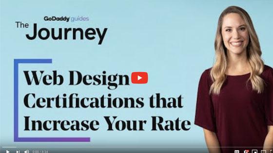 Web Design Certifications Journey Video