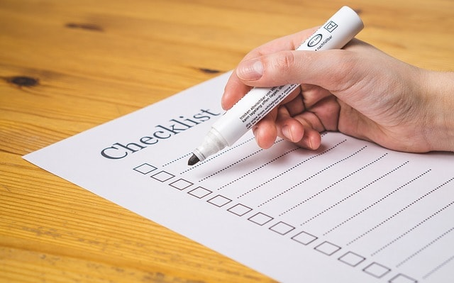 Web Design Client Questionnaire Checklist