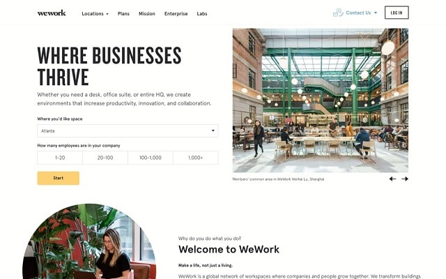 Web Design Lead Generation Wework