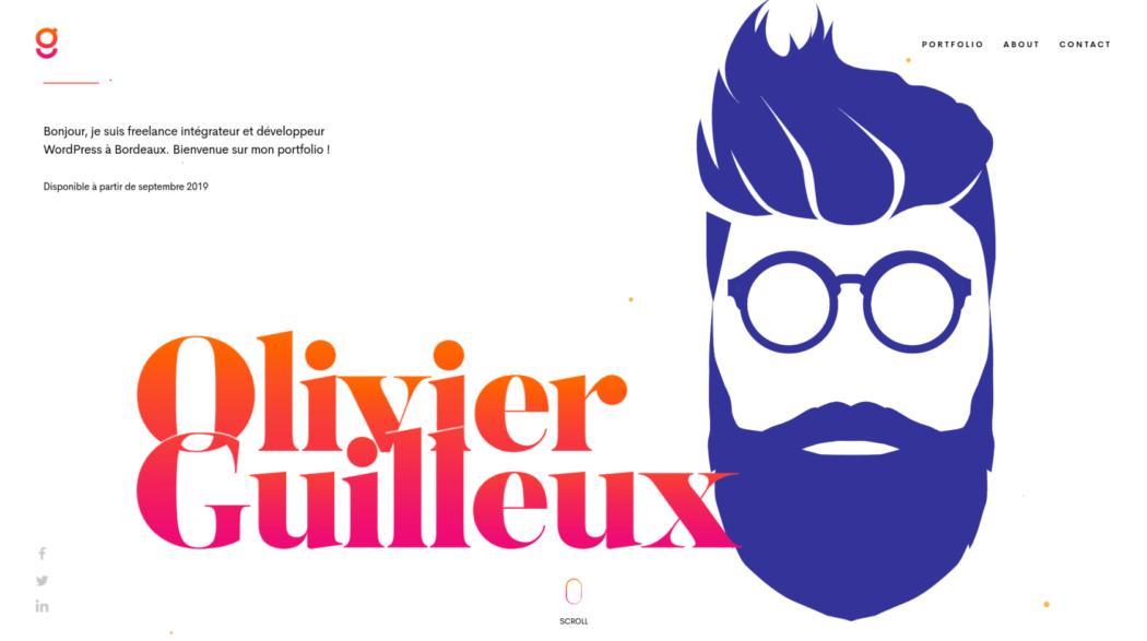 The web design portfolio of Olovoer Guilleux