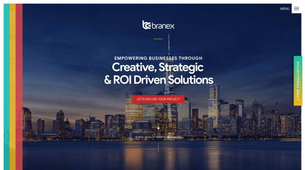 The web design portfolio of Branex