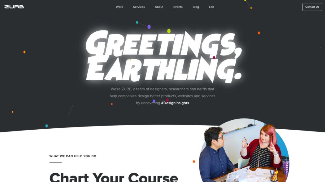 The web design portfolio of Zurb