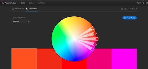 Web Design Tools Adobe Color