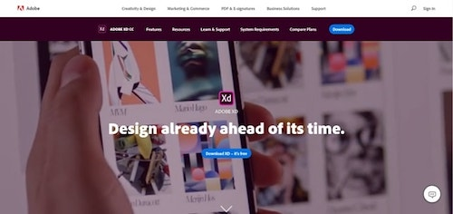 Web Design Tools Adobe XD