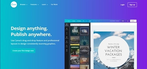 Web Design Tools Canva]