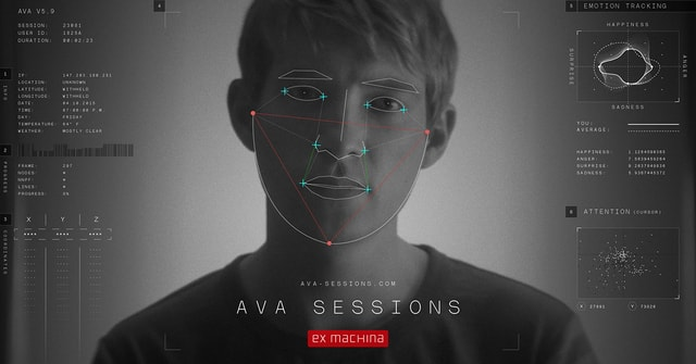 The interactive Ava Sessions website from 2015 draws your portrait in a unique style.