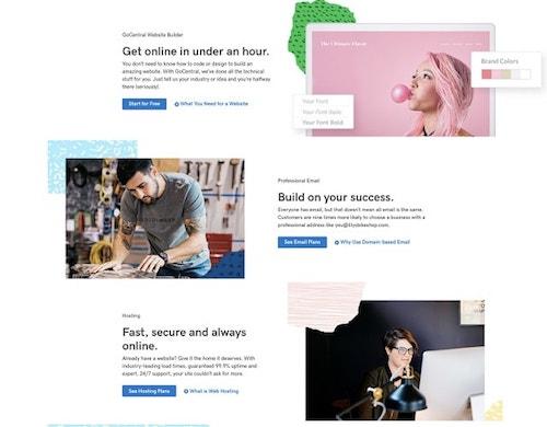 Web Design Trends GoCentral Website Builder