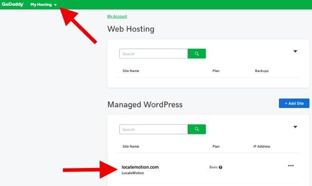 Web Page Security GoDaddy Hosting