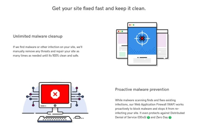 Web Page Security GoDaddy Malware Removal