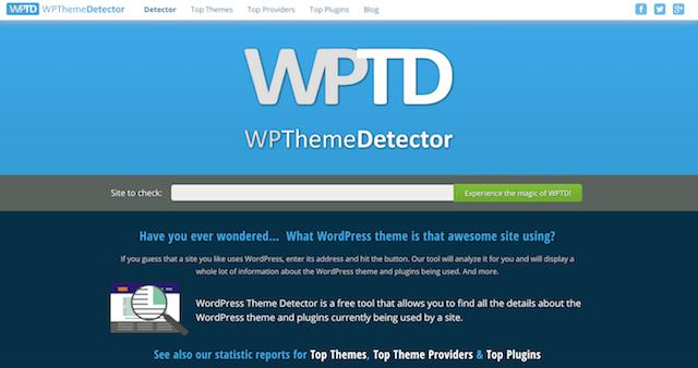 Website Design Inspiration WPThemeDetector