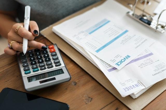 Website Maintenance Services Invoice