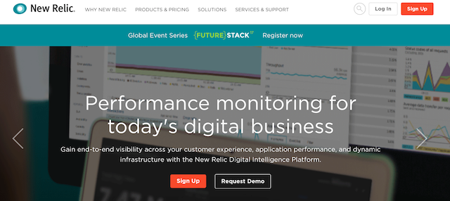 Website Monitoring Service New Relic Browser
