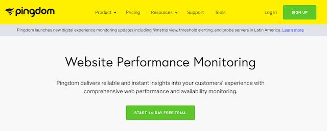 Website Monitoring Service Pingdom